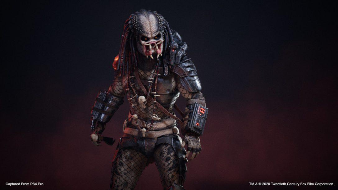 六月免費更新現已登陸Predator: Hunting Grounds