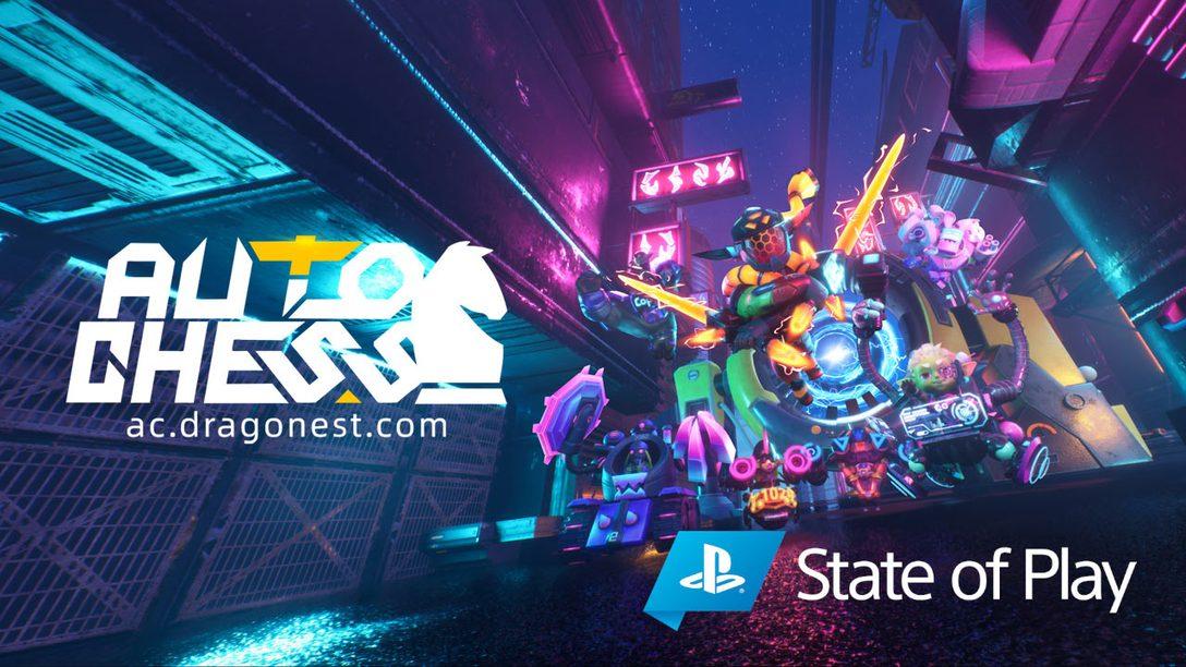 《多多自走棋》預計將在2020年10月下旬登陸PlayStation