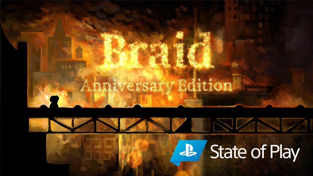 《Braid》將於PS4和PS5上推出年度紀念版