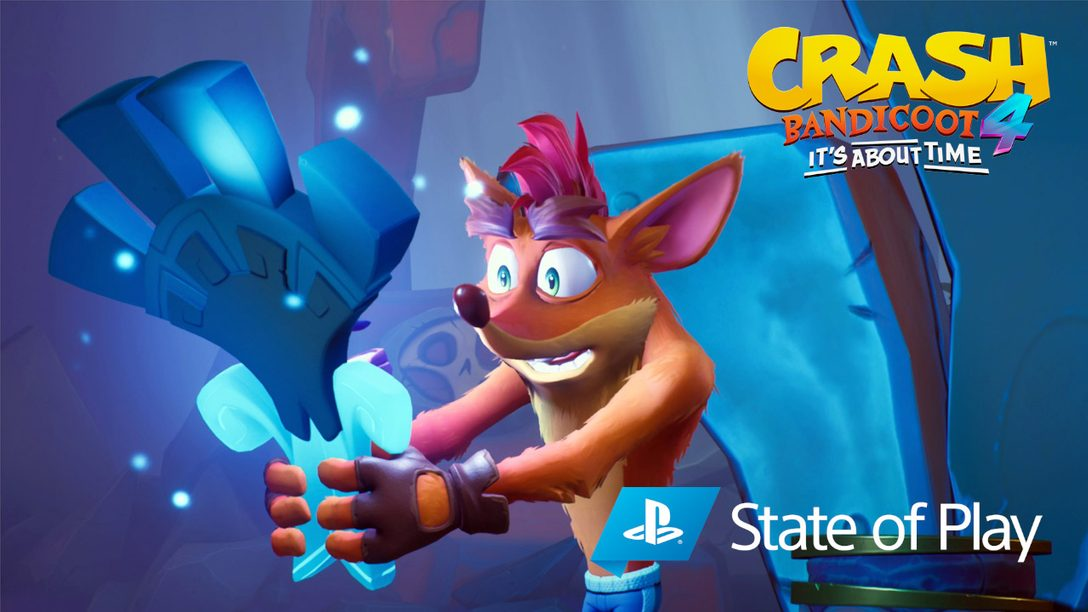 《Crash Bandicoot 4: It's About Time》揭露全新的倒轉模式、可遊玩角色以及更多遊戲細節
