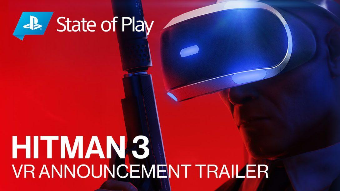 《HITMAN 3》將於2021年1月上市時追加支援PS VR