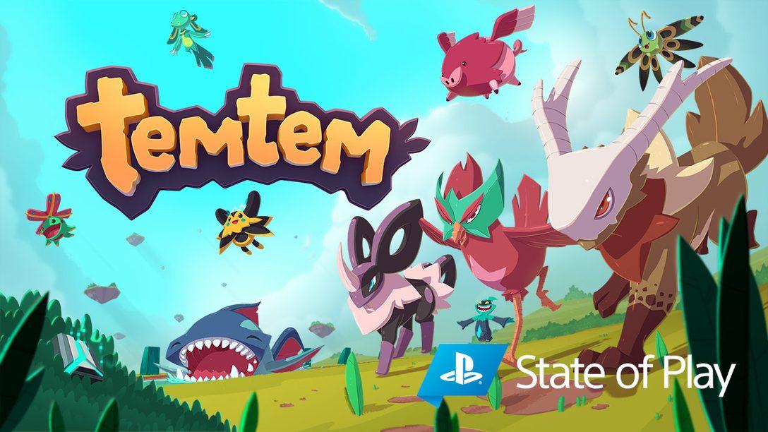 新型態生物收集遊戲《Temtem》將於2021年登陸PS5