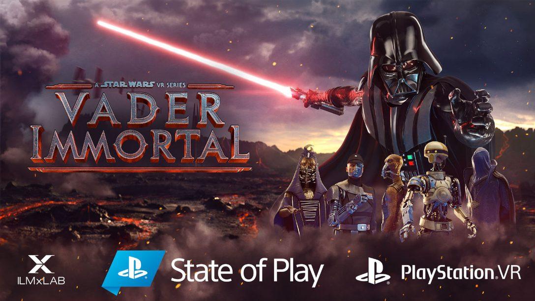 《Vader Immortal》:Star Wars的VR遊戲系列將於PS VR推出