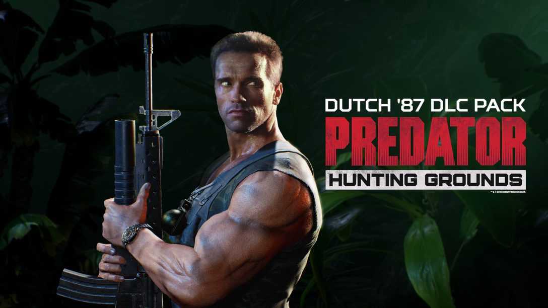 「Dutch '87」進駐 《Predator: Hunting Grounds》