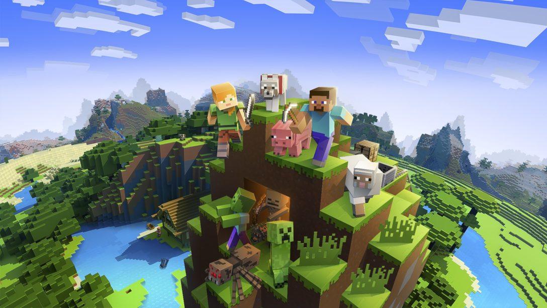 《Minecraft》於本月增添支援PS VR