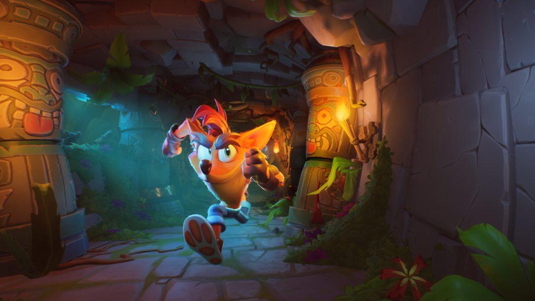 《Crash Bandicoot 4: It's About Time》於10月2日登陸 PS4!快來一睹新內容