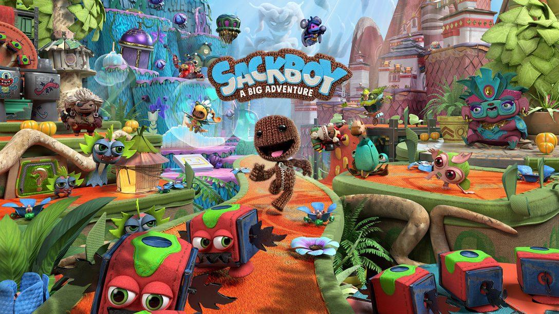 刺激可愛的3D平台冒險《Sackboy: A Big Adventure》即將登陸PS5