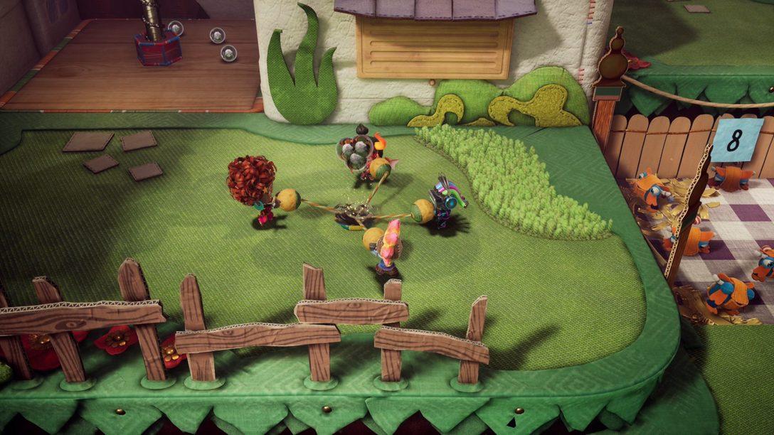 《Sackboy: A Big Adventure》釋出更新現追加線上多人遊玩功能