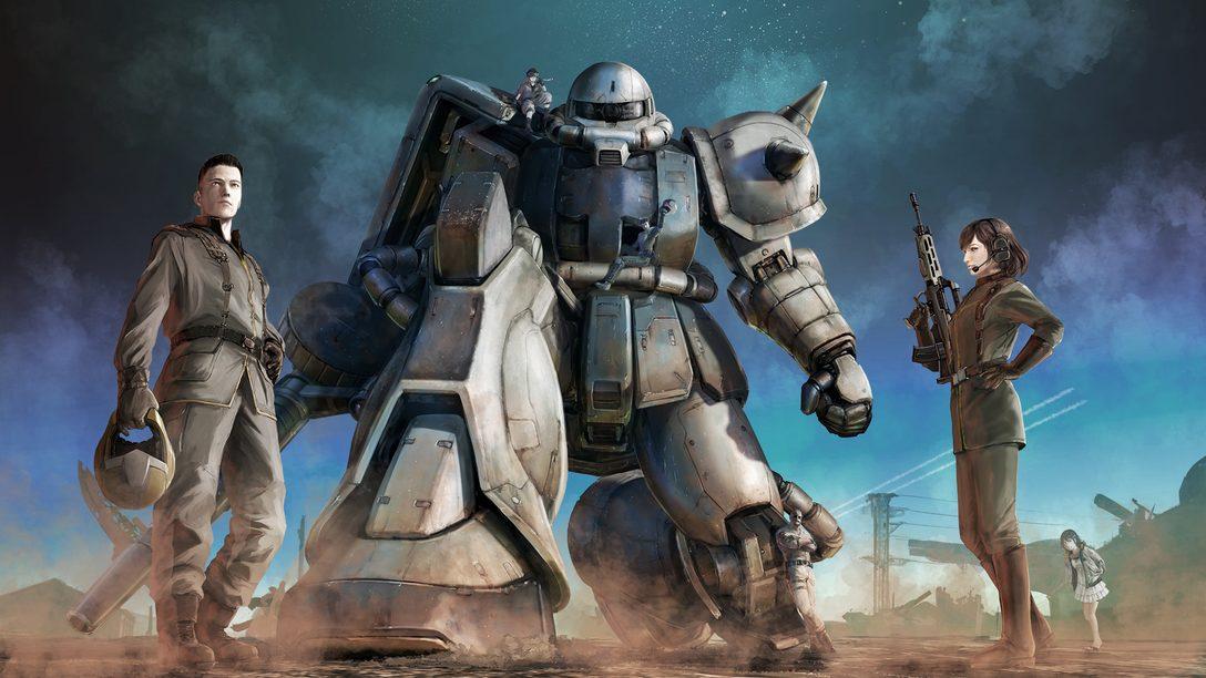 1月28日《Mobile Suit Gundam Battle Operation 2》登陸PS5