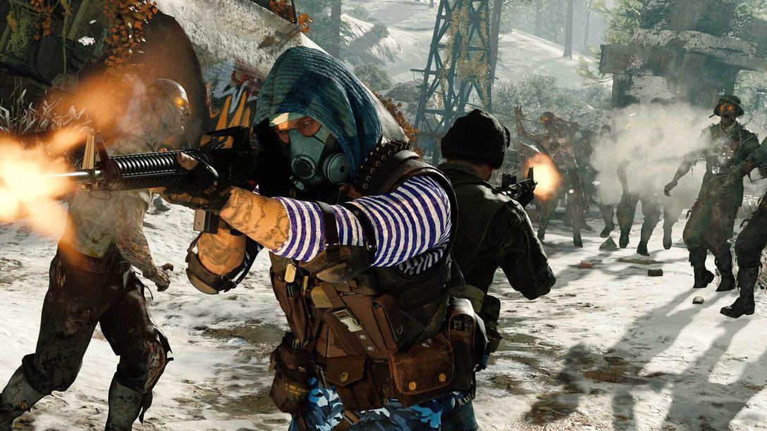 參加《黑色行動冷戰》殭屍模式免費遊玩週,探索殭屍模式的全新章節