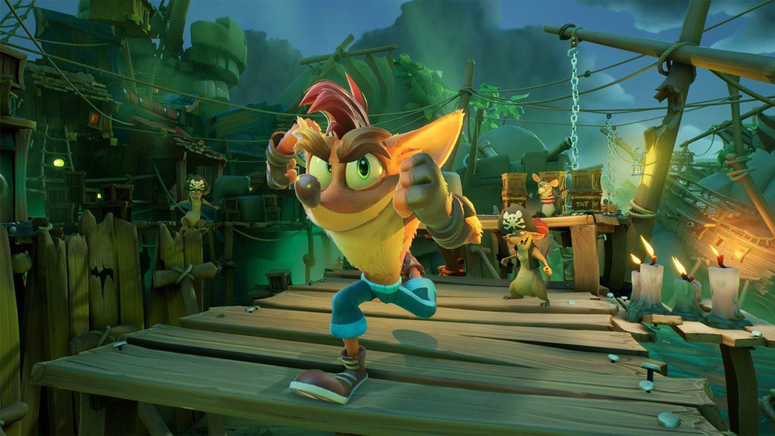 透過新發表《Crash Bandicoot 4: It's About Time》深入探討見識PS5強化功能