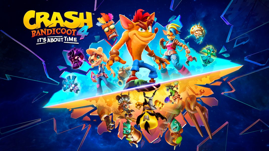 《Crash Bandicoot™ 4: It's About Time》即將登上PS5