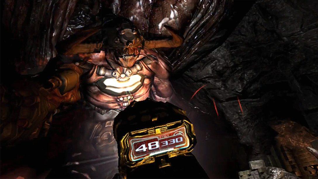 《Doom 3》戰鬥體驗因應PS VR大幅提升