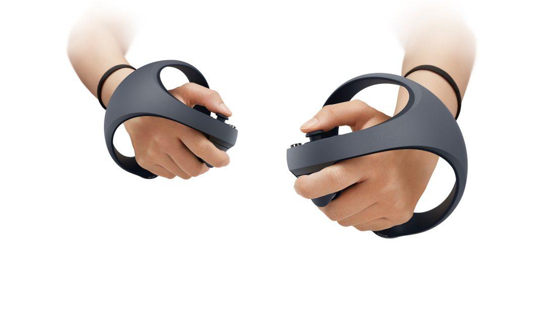 PS5 次世代 VR:全新控制器