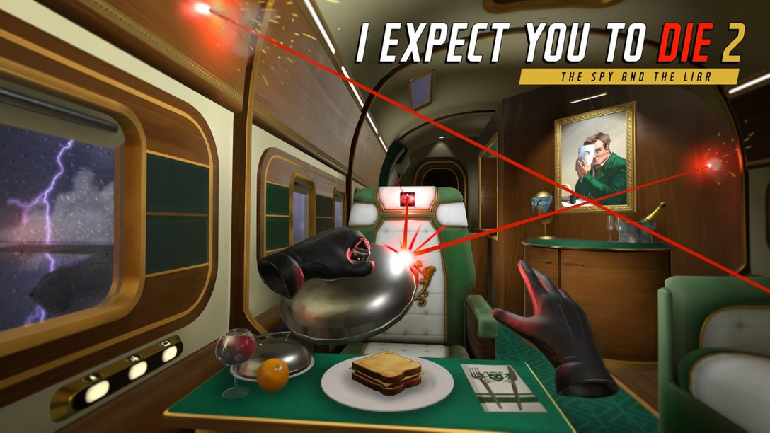 《I Expect You To Die 2: The Spy And The Liar》強勢回歸PS VR