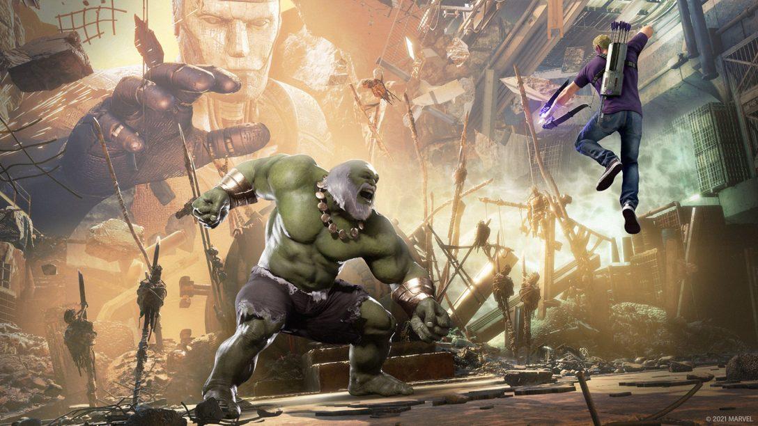 《漫威復仇者聯盟》PS5強化功能、黑豹等新情報公開