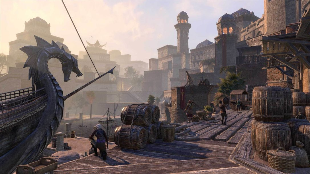 《The Elder Scrolls Online》主機增強版6月8日登陸PS5