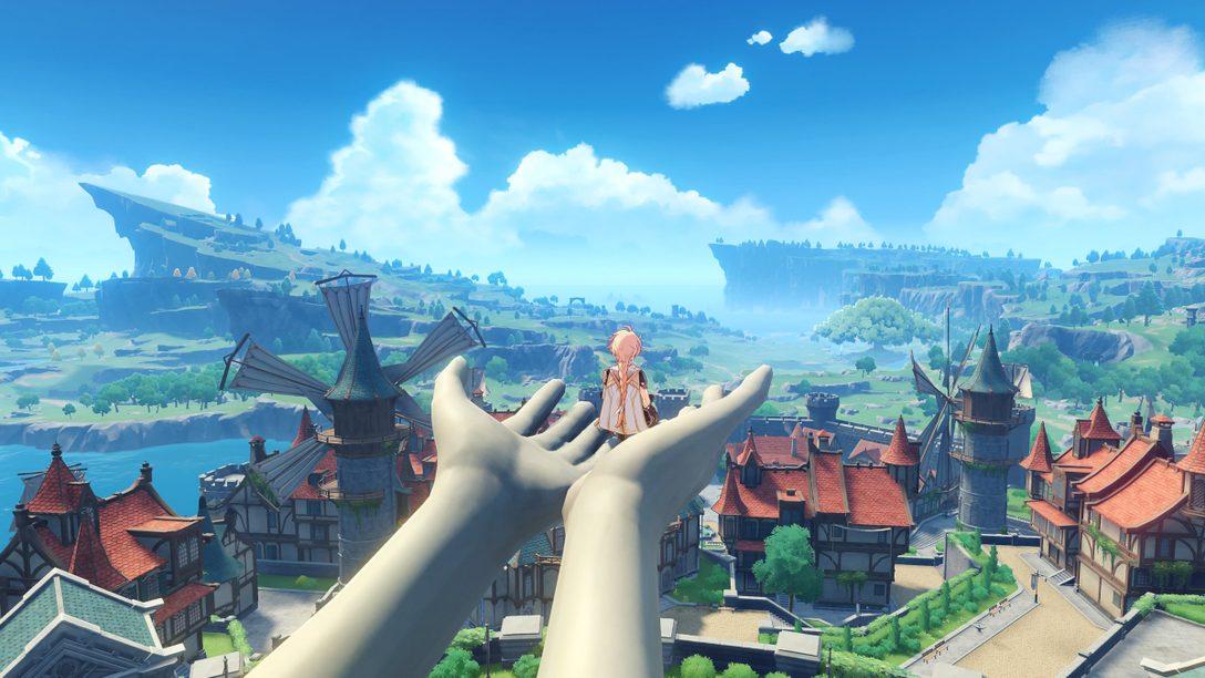 《原神》將於4月28日登陸PS5,開啟次世代開放世界體驗