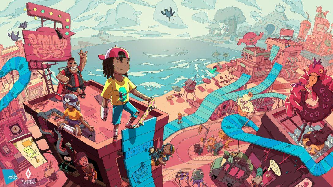 今年冬天在《OlliOlli World》的個人冒險中翻板、輾磨,大玩各種招式!