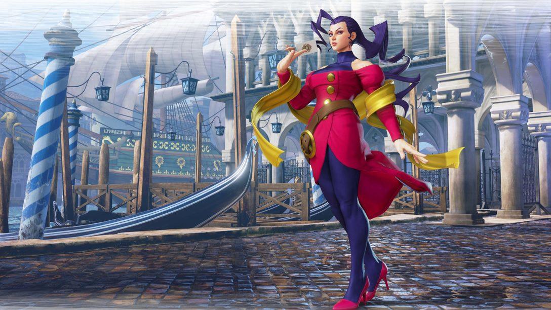 Rose在《SFV》重現她在《Street Fighter ZERO》系列的根源