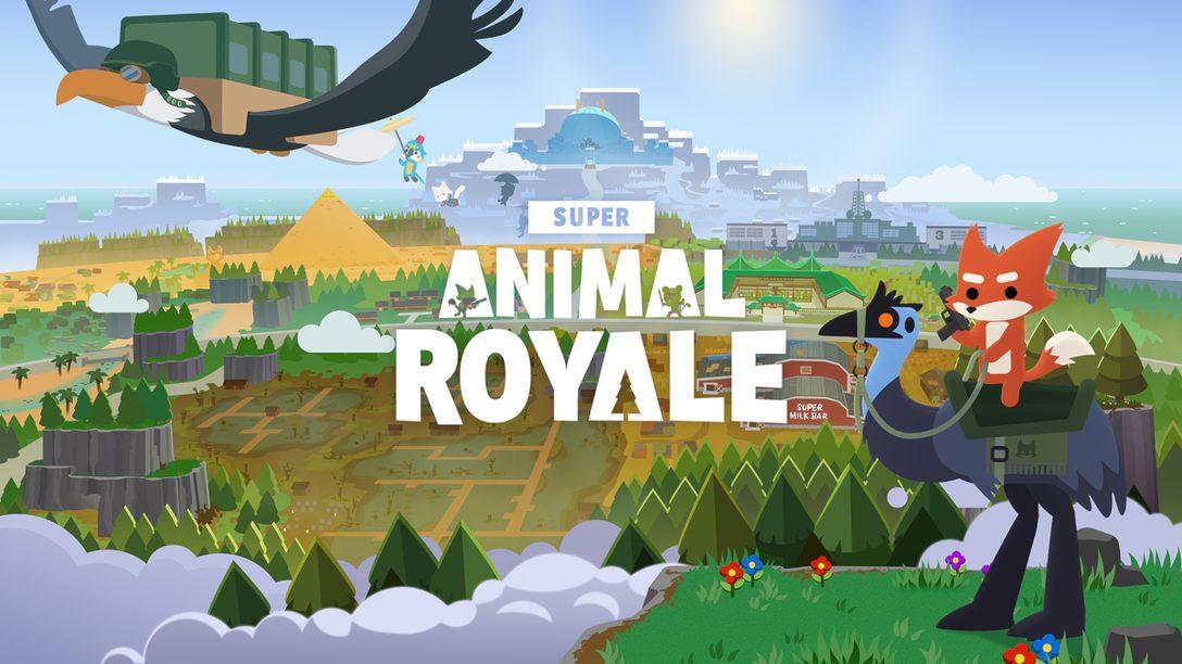 《Super Animal Royale》本年稍後將為PS4和PS5帶來超萌大亂鬥