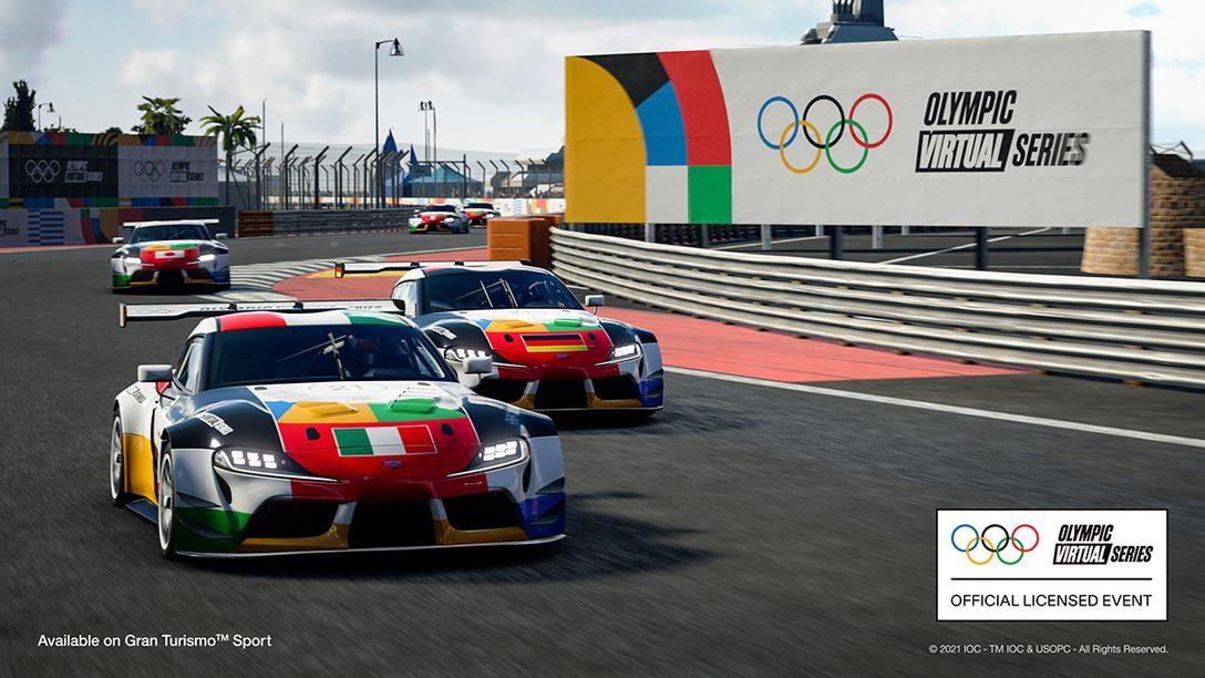 首屆奧運虛擬系列賽賽車項目將於6月23日轉播
