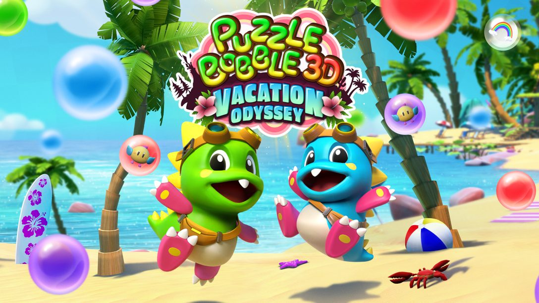 《泡泡龍3D:Vacation Odyssey》於今年稍後為PS VR、PS4和PS5帶來次元提升的泡泡爆破體驗