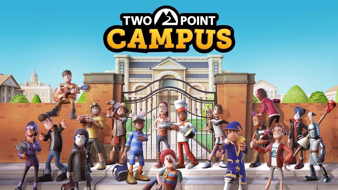 PS4與PS5上的《Two Point Campus》讓你隨心所欲建造大學