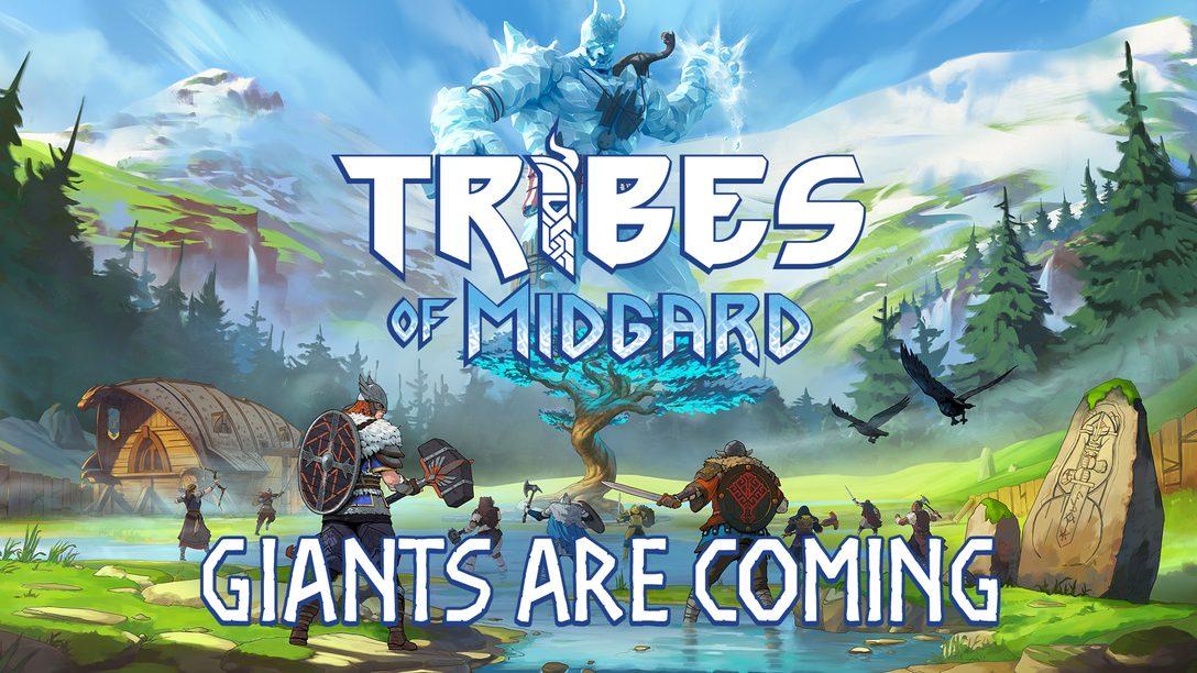 進入Norsfell《Tribes of Midgard》的世界——協力動作RPG於7月 27日正式推出