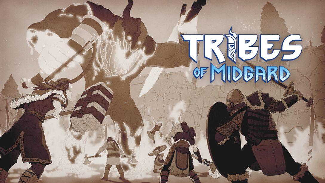 《Tribes of Midgard》:駕馭維京色彩鮮明的猛獸之道
