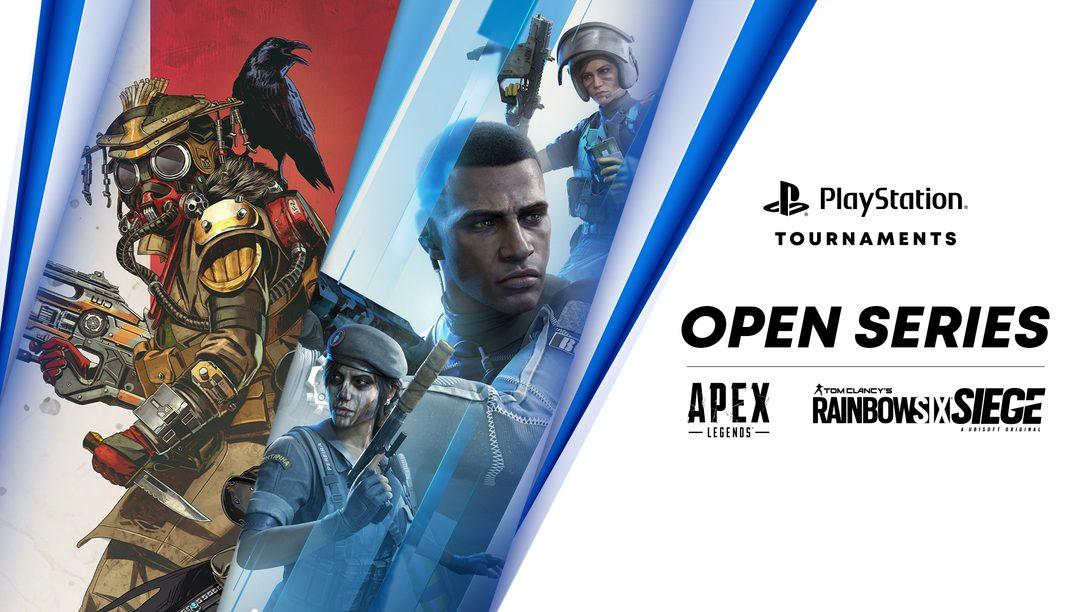 《Apex英雄》和《虹彩六號:圍攻行動》 加入「PlayStation錦標賽:公開系列」