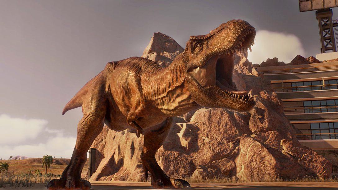 《Jurassic World Evolution 2》將於 2021 年 11 月 9 日捱出