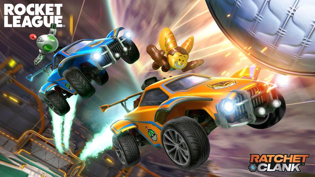 Ratchet & Clank闖入Rocket League,一起來體驗第4賽季盛況