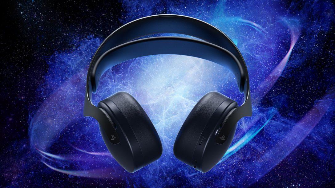 Pulse 3D 無線耳機組午夜黑款10月29日登場