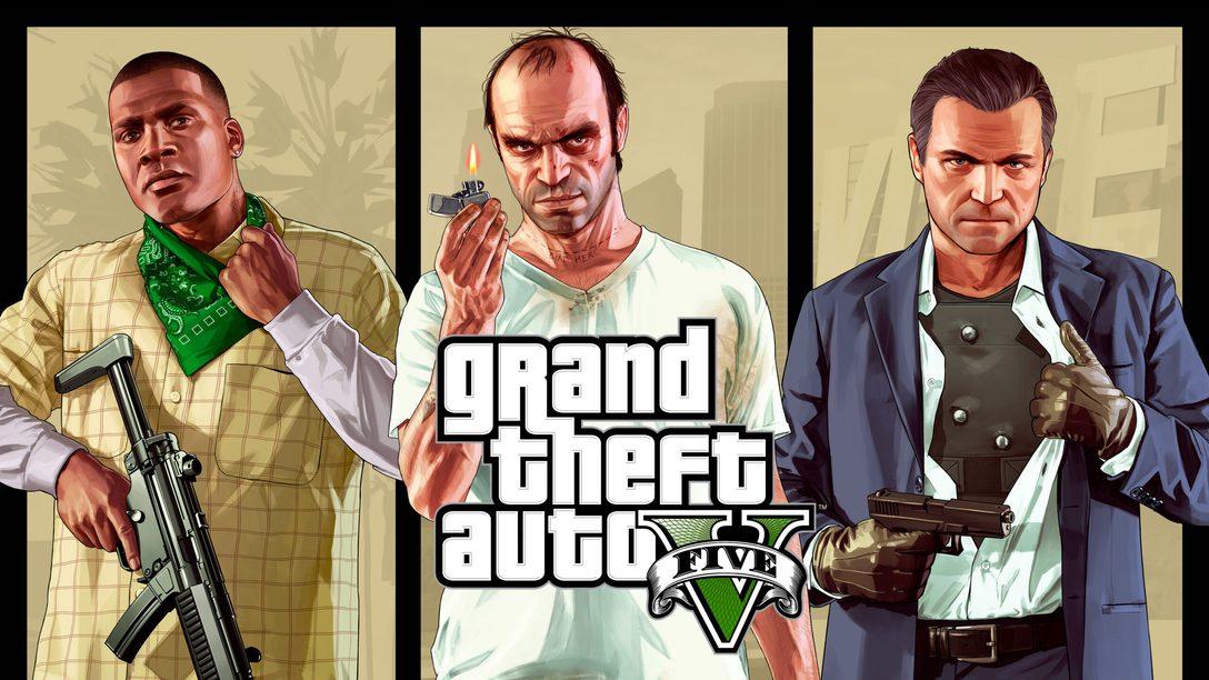 《GTAV》和《GTA 線上模式》將於 2022 年 3 月登陸 PS5