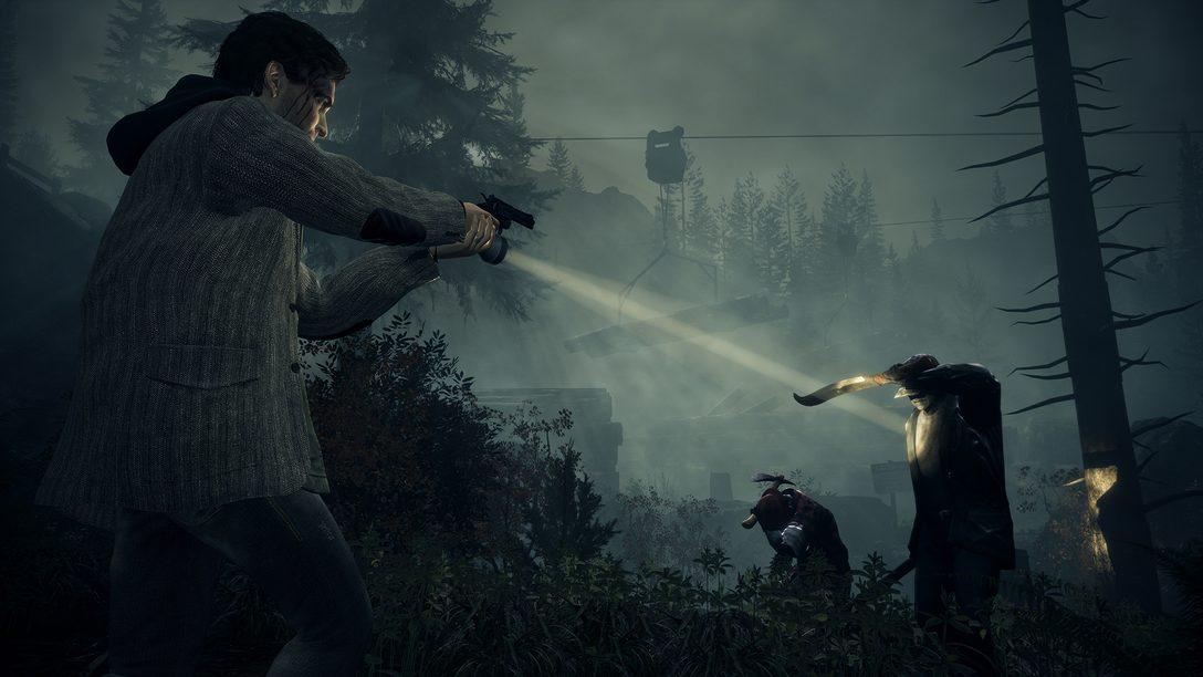 重寫歷史 – 《Alan Wake》重製版將使作家的故事登陸 PS4 和 PS5