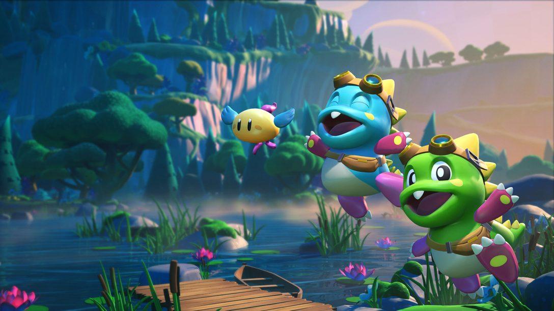 《泡泡龍3D:Vacation Odyssey》於10月5日登陸PS5、PS4和PS VR
