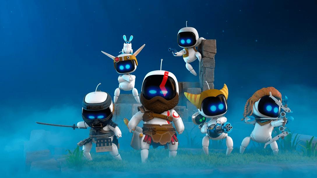 Astro's Playroom:PlayStation 俏皮客串角色的幕後花絮