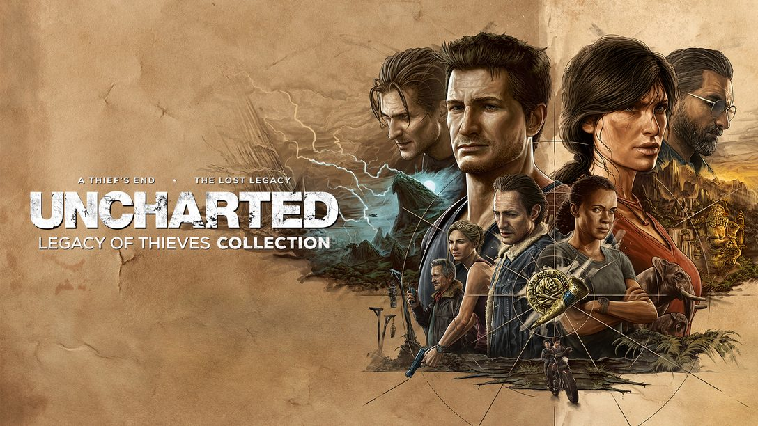 《Uncharted: Legacy of Thieves Collection》將登陸PS5主機與PC平台